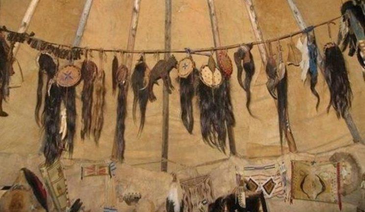 Скальпы у индейцев