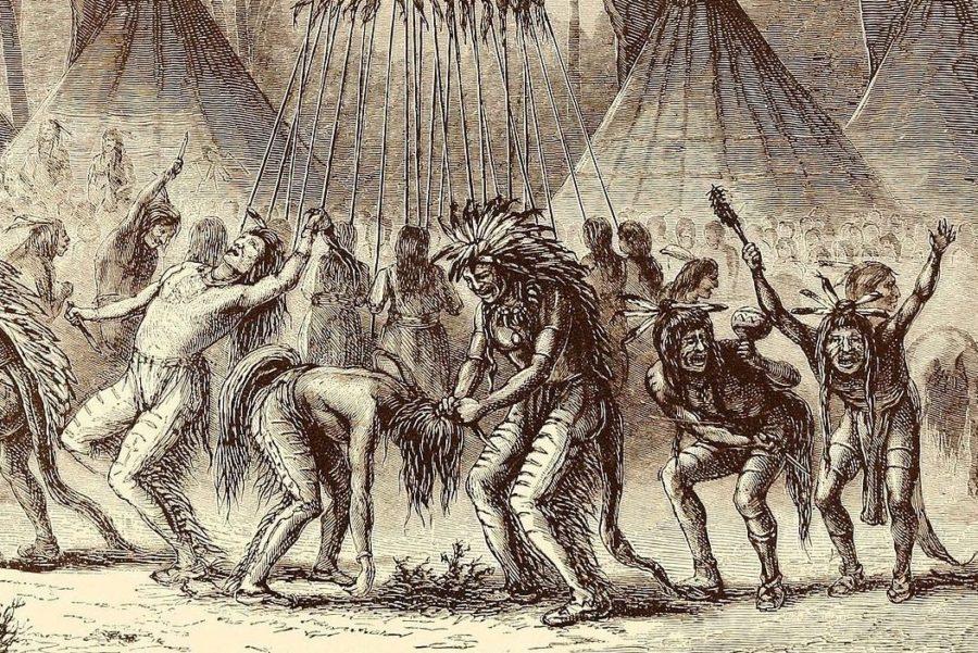 Кровная месть индейцев
