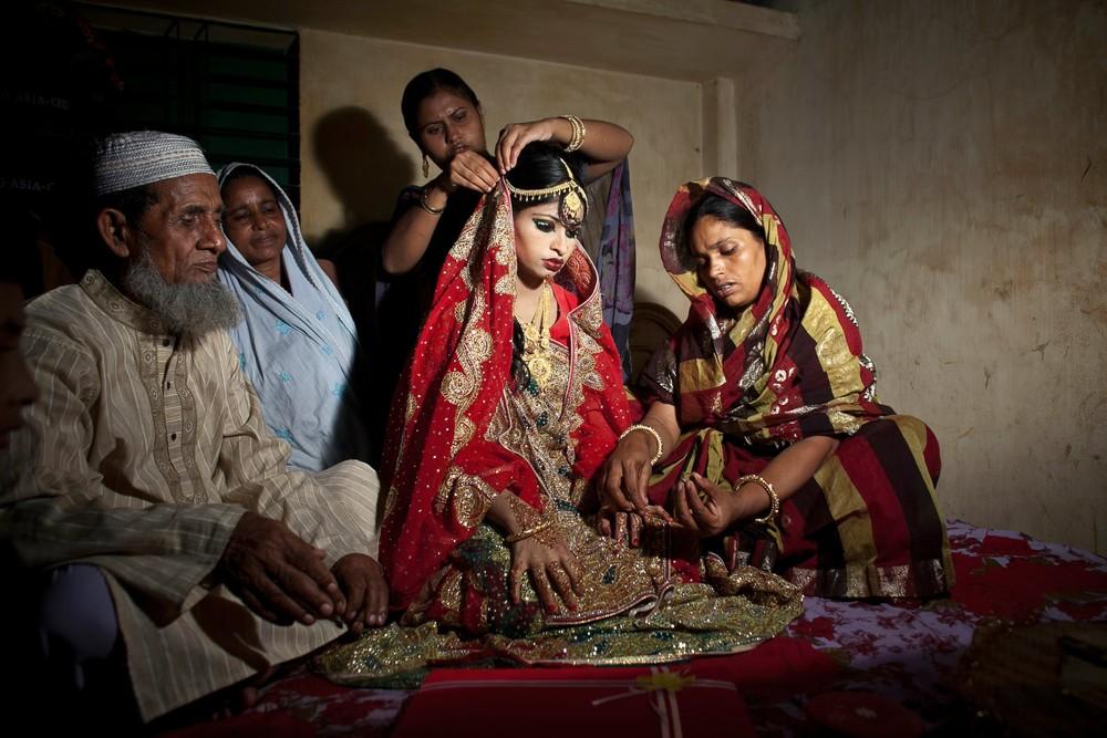 Ранние браки в Индии