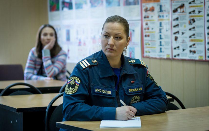 Анна Шпенова в МЧС