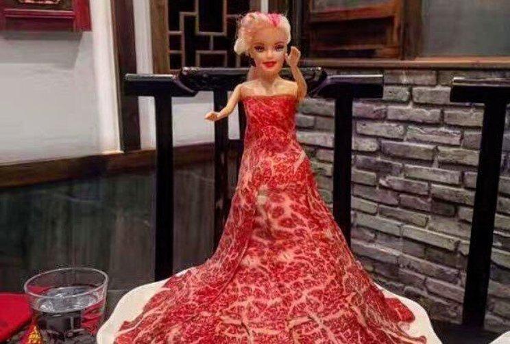 Кукла в сыром мясе
