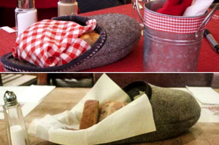 Хлеб в домашних тапочках