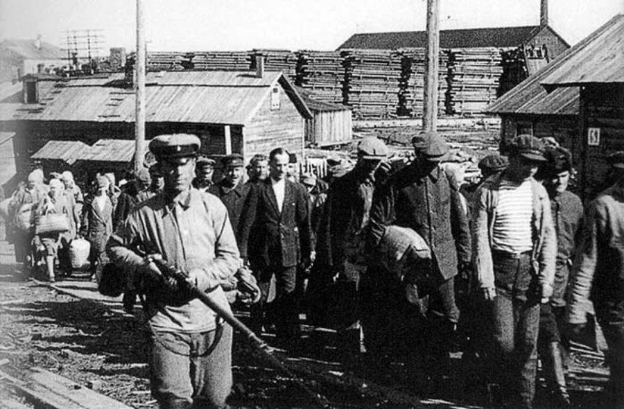 Казнь советских заключенных