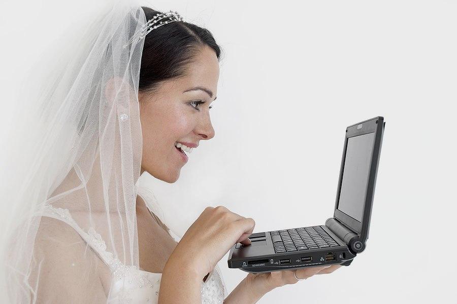 Свадьба через интернет