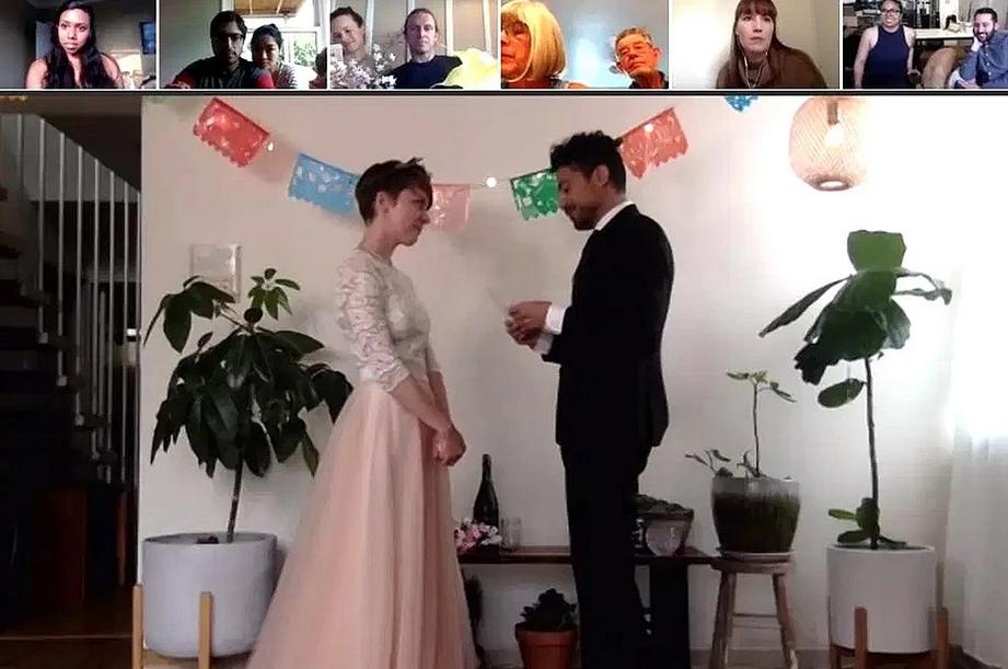 Свадьба американцев Кристи и Джефф