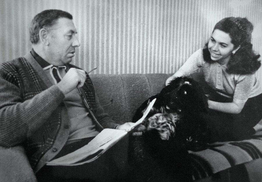 Анатолий Папанов с дочерью