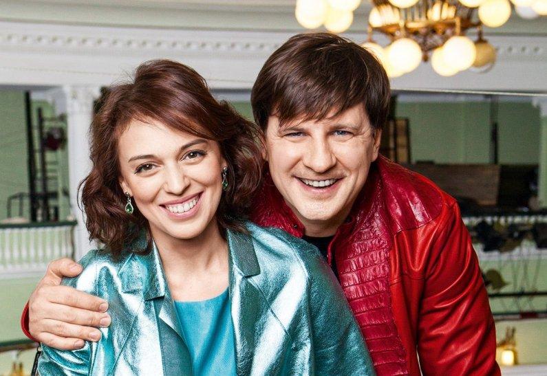 Нелли Уварова и Александр Гришин