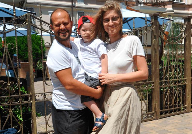 Кирилл Плетнев с бывшей женой