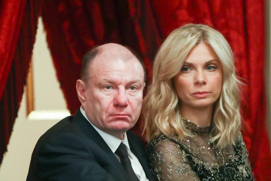 Владимир Потанин с женой Екатериной