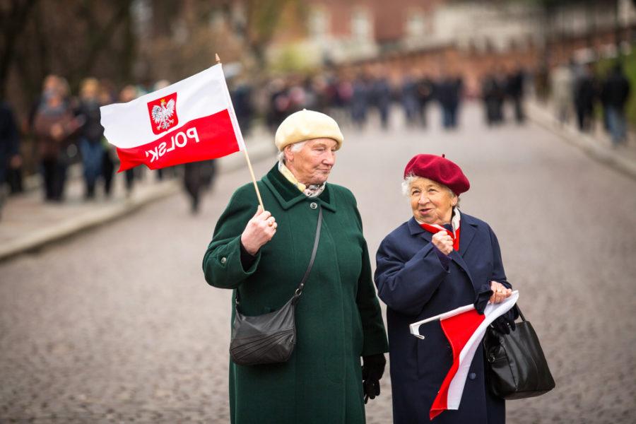 Пенсионеры в Польше