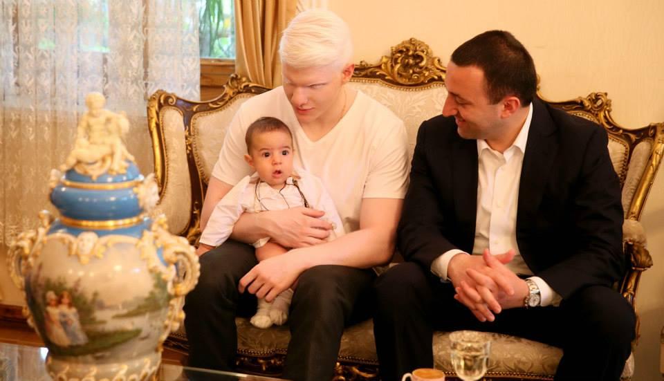 Бера Иванишвили с сыном