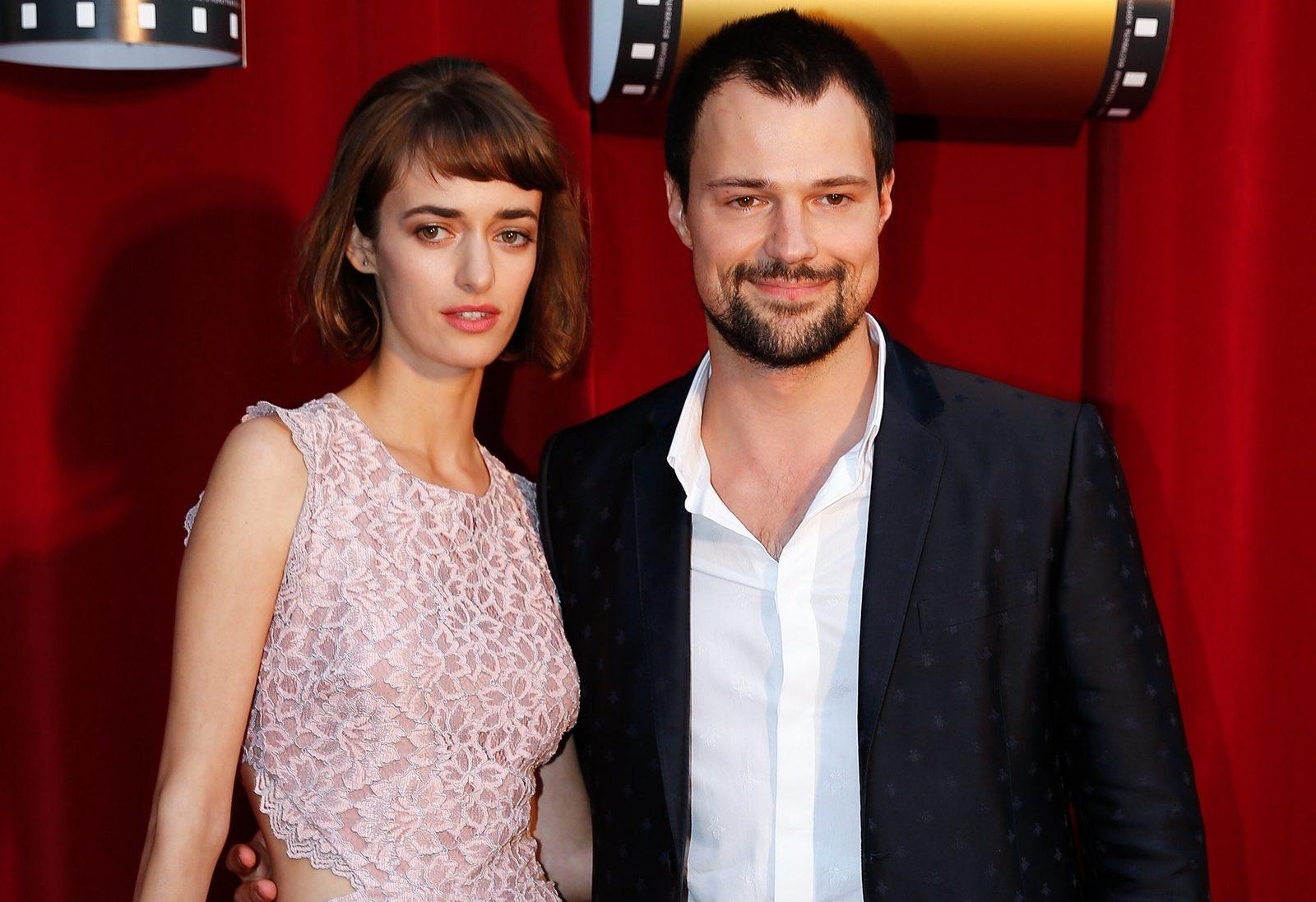 Данила Козловский с женой