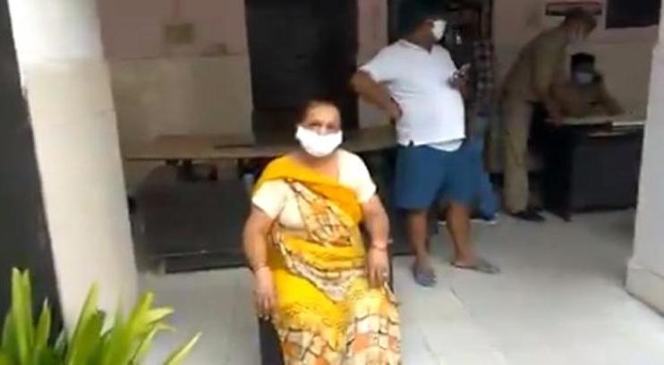 Мать мужчины из Индии
