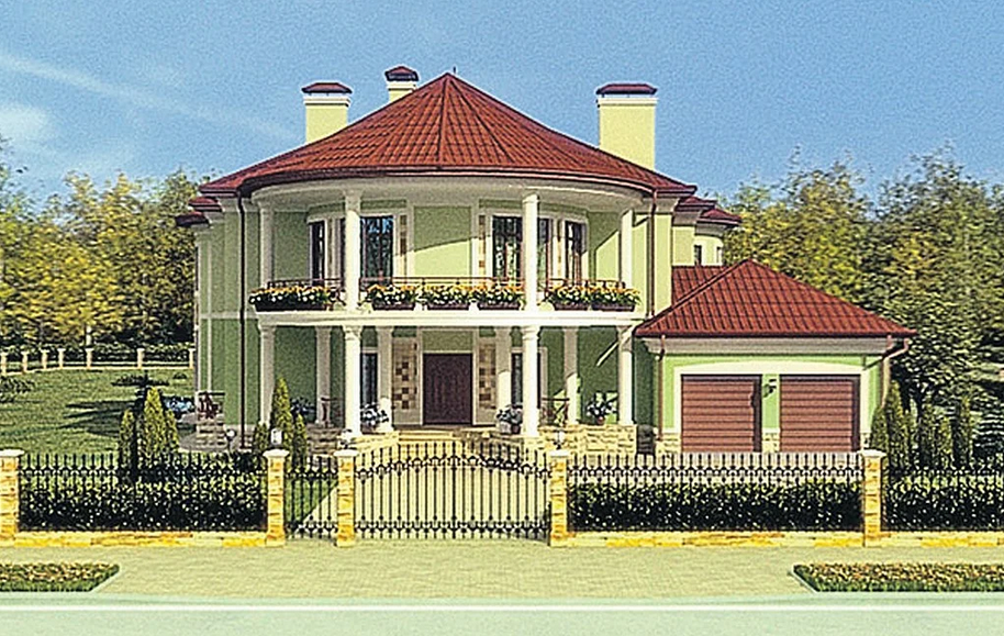 Дом Брежневой и Меладзе в подмосковье