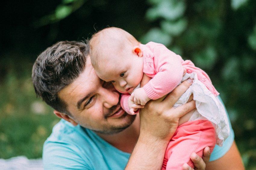 Демьян Турчин с дочкой
