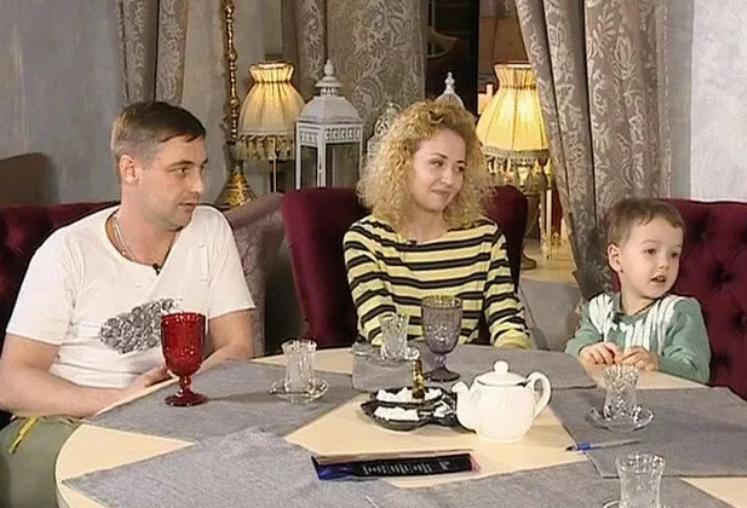 Антон Батырев с женой Екатериной