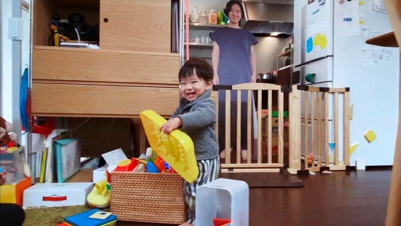 Фотография на картоне японский мамы