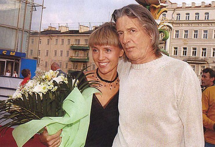 Александр Абдулов и Ксения Алферова