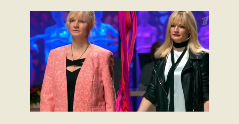 Ольга в программе Модный приговор