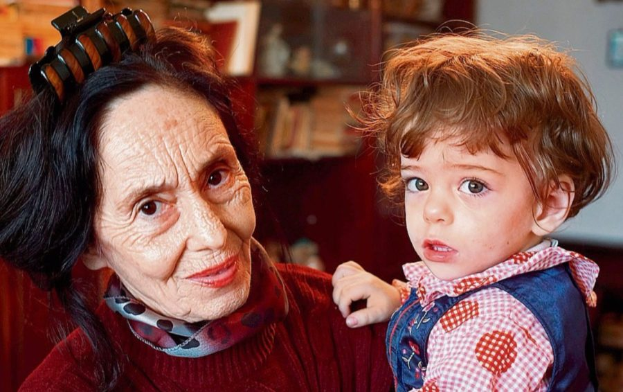 Адриана Илиеску с дочерью