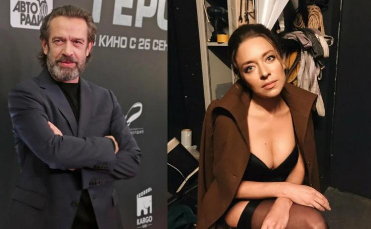 Серафима Низовская и Владимир Машков
