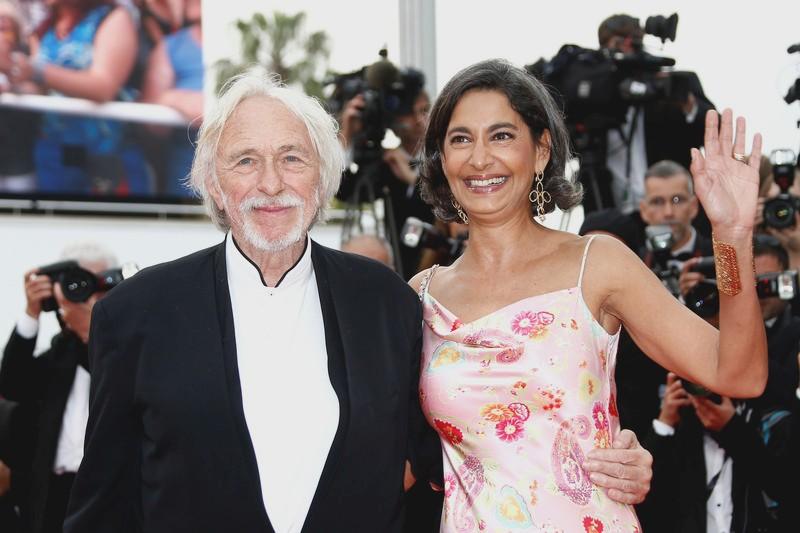Пьер Ришар с женой